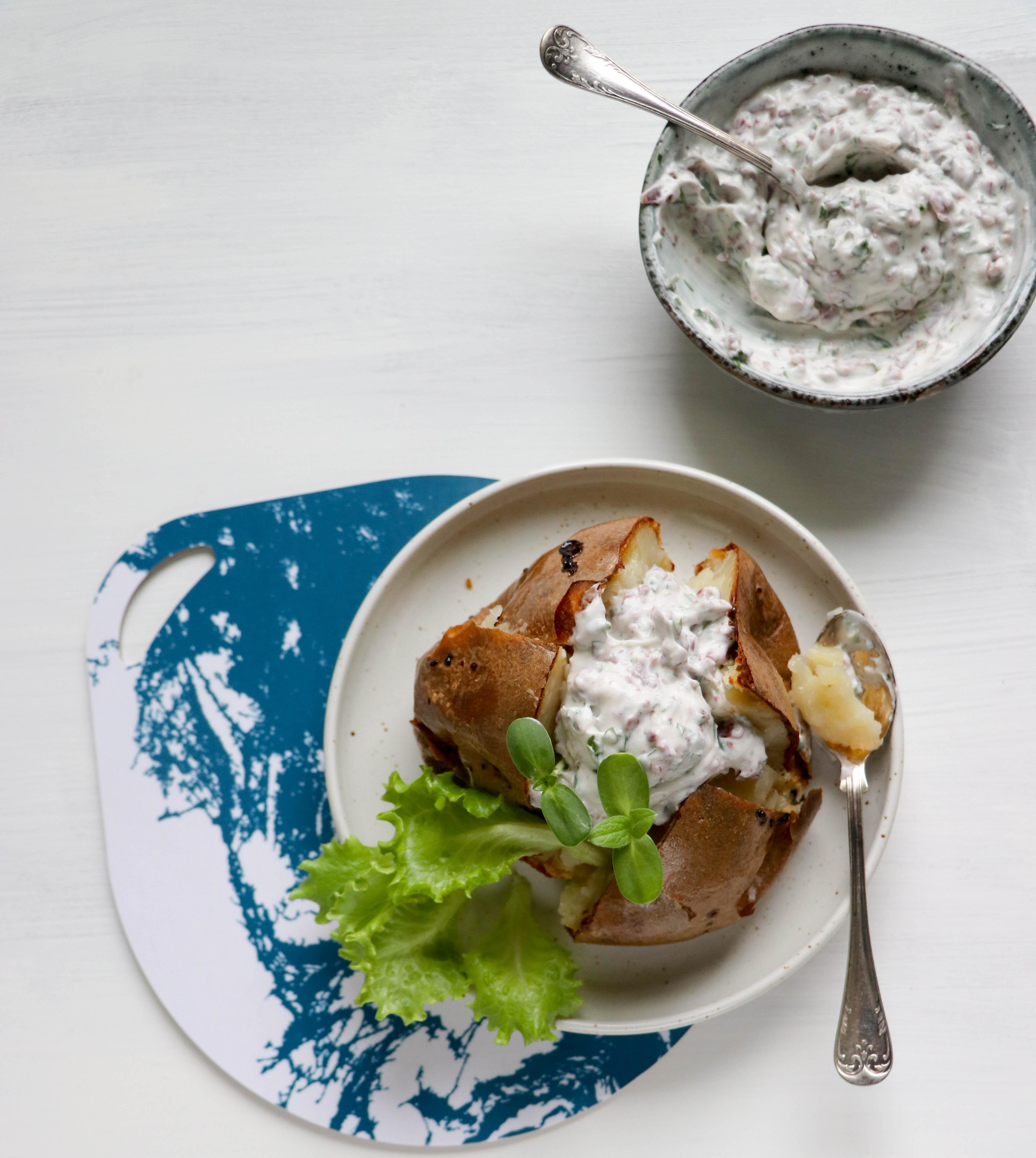 Bakad Potatis med Wild Chips Röra