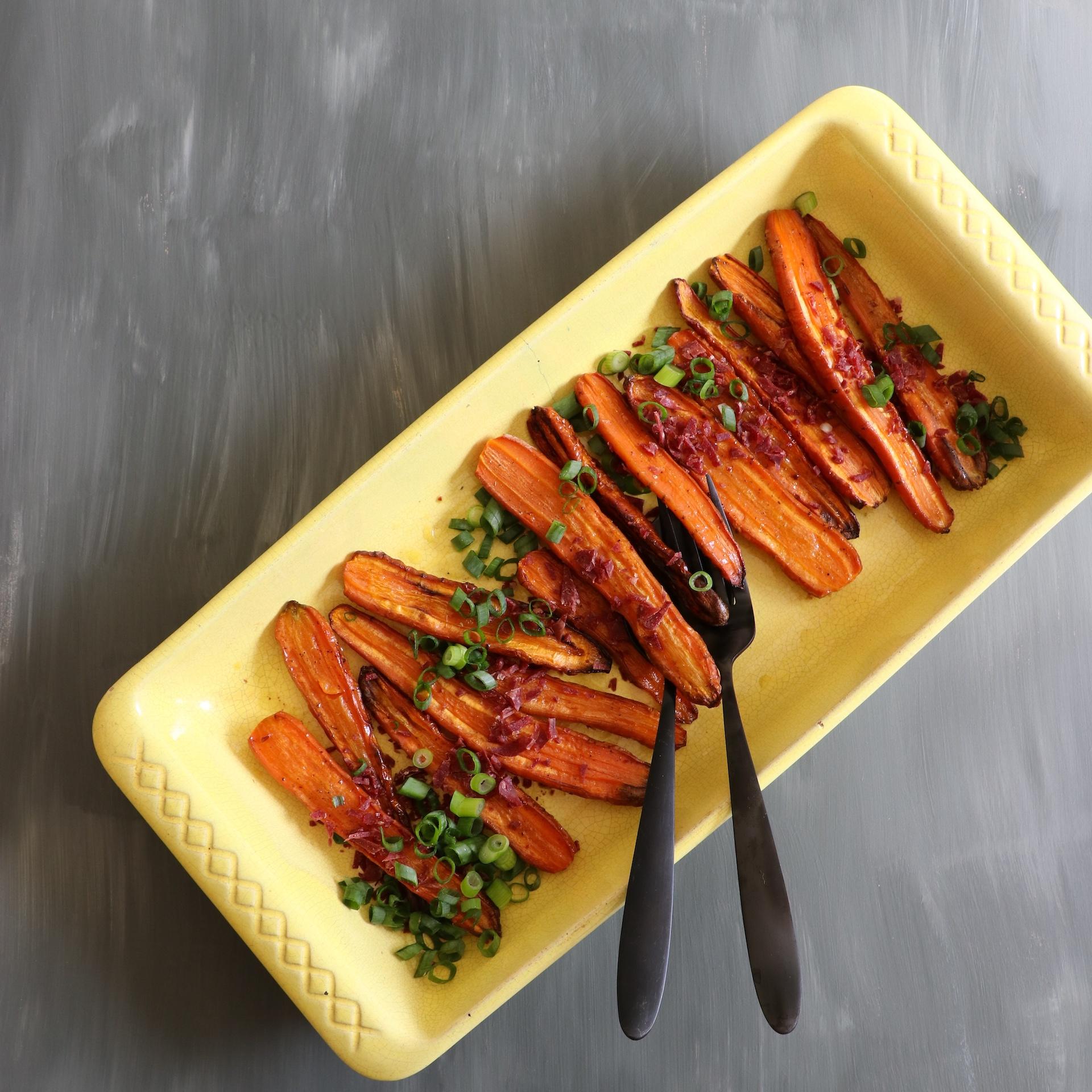 IMG_20170830_173102_859 Ungsbakade morötter med salladslök och Wild Chips
