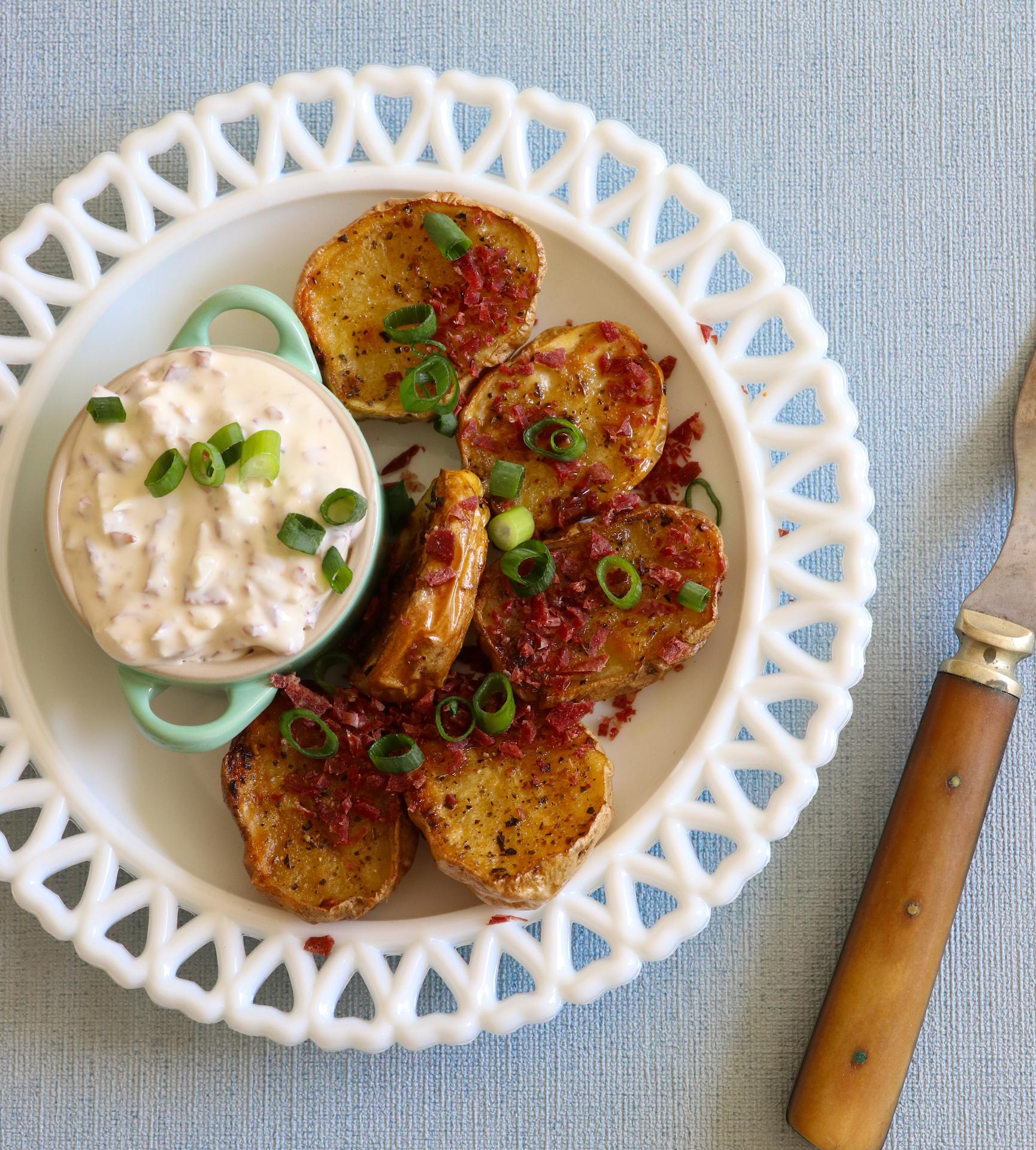 Ungsbakad potatis med Wild Chips Röra