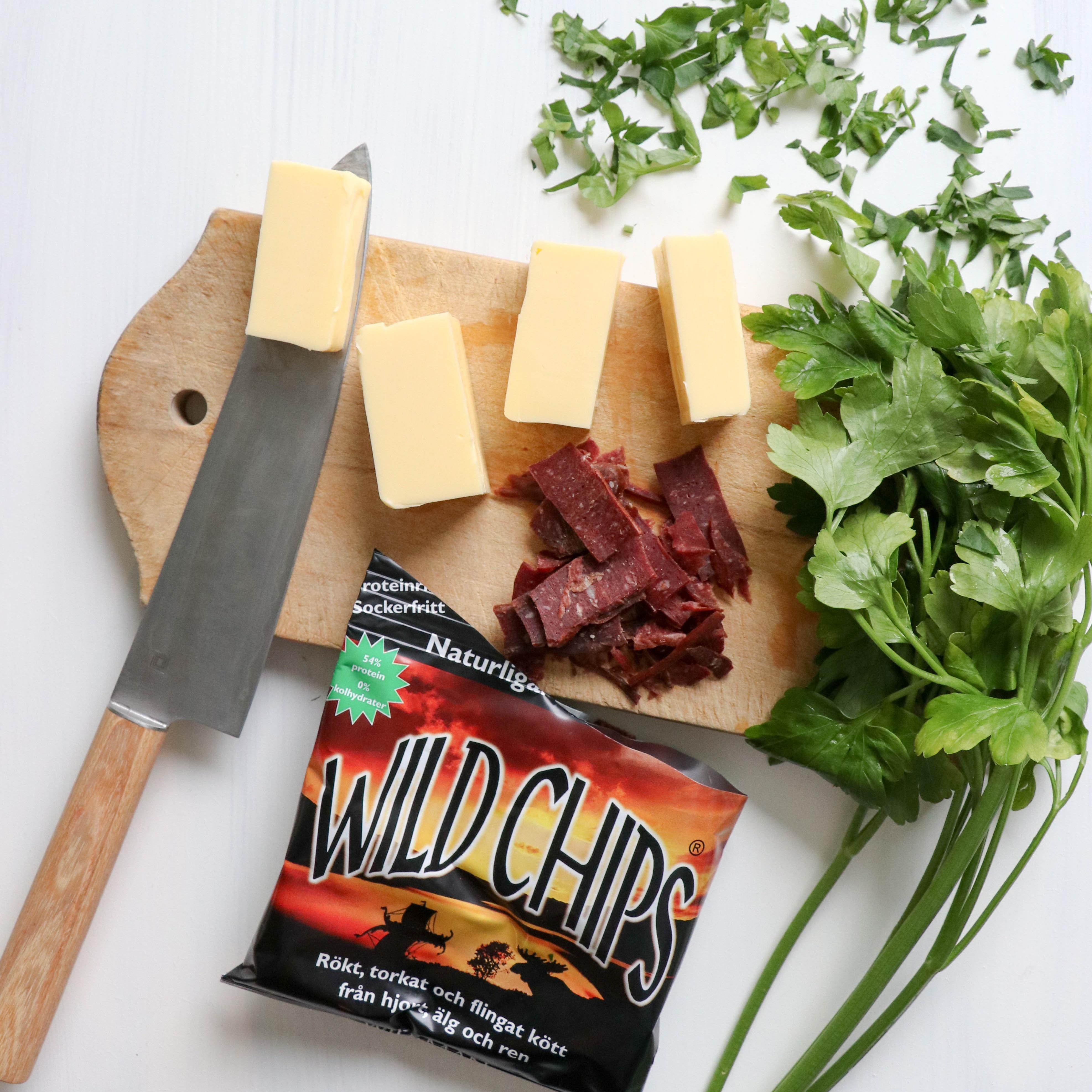 Wild Chips smör med bladpersilja